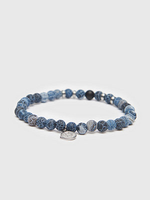 Smycken - by Billgren Bracelet 8158 6mm Blue