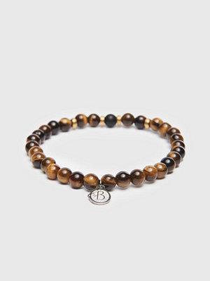 Smycken - by Billgren Bracelet 8162 6mm Brown