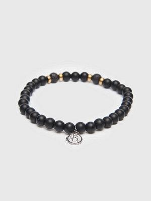 Smycken - by Billgren Bracelet 8161 6mm Black