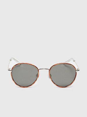 Solglasögon - Le Specs Zephyr Deux Vintage Tort/Khaki Mono