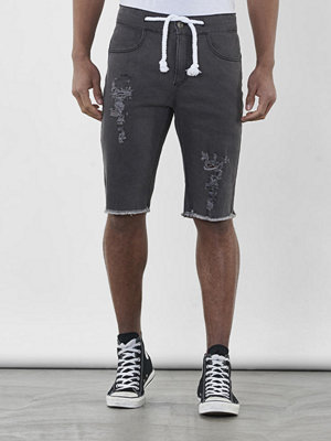 Shorts & kortbyxor - Somewear Echo shorts destroyed Black