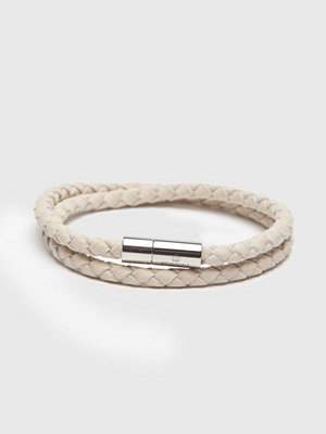 Smycken - Skultuna The Suede Bracelet White
