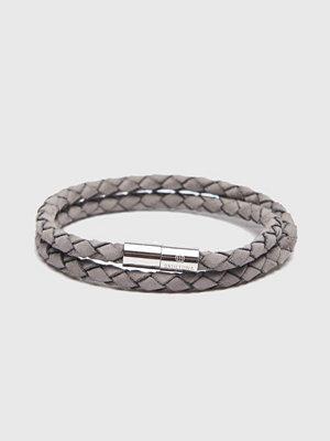 Smycken - Skultuna The Suede Bracelet Grey