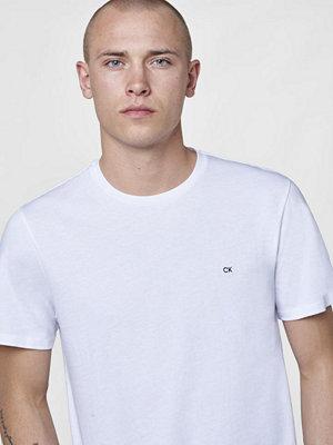 Calvin Klein Travor Crew Neck Perfect white