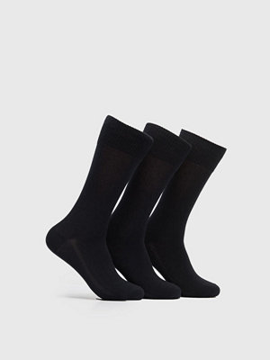 Strumpor - Levi's 168SF Regular Cut 3-pack Socks 884 Jet Black