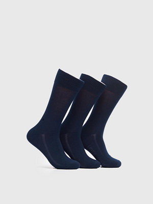 Strumpor - Levi's 168SF Regular Cut 3-pack Socks 321 Navy