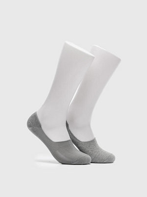 Strumpor - Levi's 168SF Low Rise 2-pack Socks 758 Middle Grey Melange