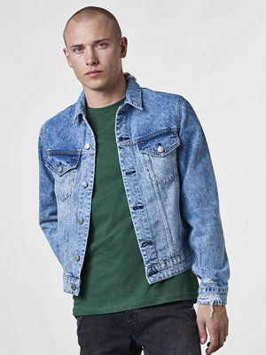 Jeansjackor - Cheap Monday Legit Jacket Pixel Blue