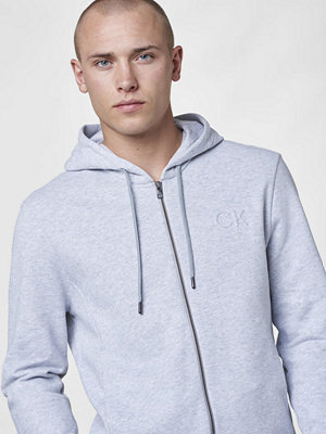 Calvin Klein Kapta Zip Hoody Light grey HTR