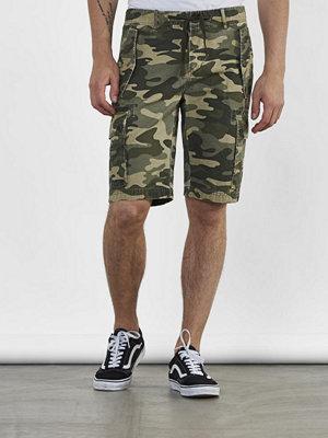 Shorts & kortbyxor - Adrian Hammond Tucker Cargo Shorts Camo