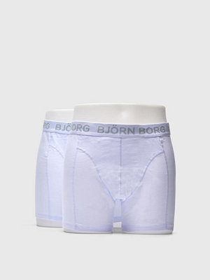 Björn Borg 2-pack Noos Solids Shorts White