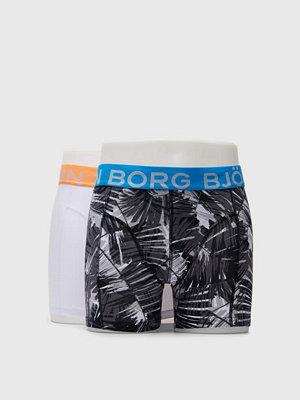 Björn Borg 2-pack BB Summer Palm Sammy Shorts Black Beauty