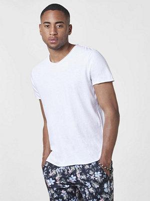 T-shirts - Filippa K Roll Neck Tee White