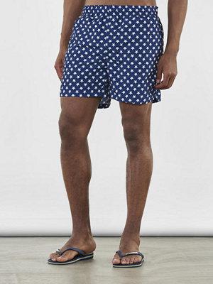 Badkläder - Gant Underwear Stars Swim Shorts 405 Navy