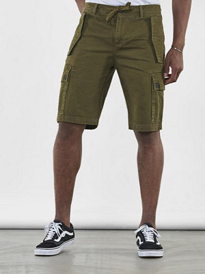 Shorts & kortbyxor - Adrian Hammond Tucker Cargo Shorts Army green