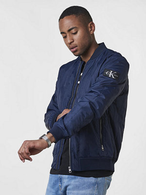 Calvin Klein Jeans Double Side Pocket Quilted Bomber 402 Night Sky