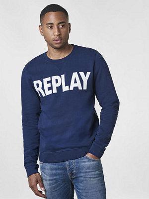 Tröjor & cardigans - Replay RBJ Logo Sweat Navy