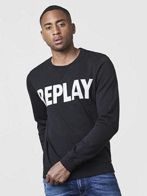 Tröjor & cardigans - Replay RBJ Logo Sweat Black