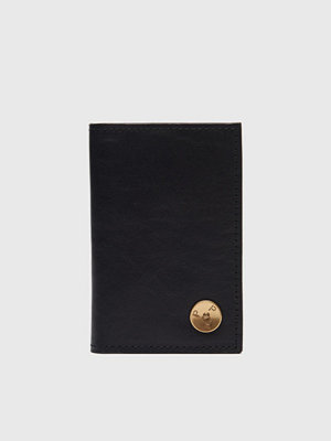 Plånböcker - P.A.P Clas Small Wallet Leather Black