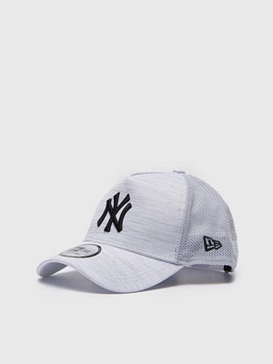 Kepsar - New Era 9Forty Engineered Fit NY Yankees Grey Melange