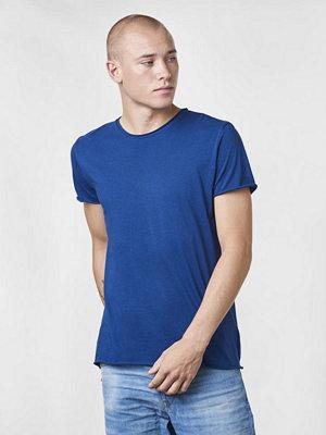 T-shirts - Filippa K Roll Neck Tee Aquatic
