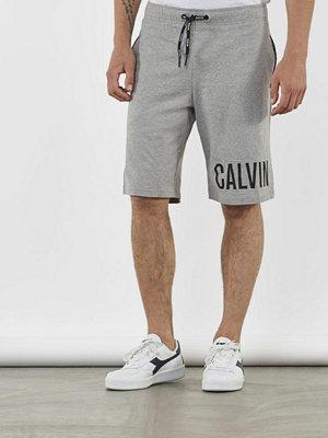 Shorts & kortbyxor - Calvin Klein Underwear Intense Power Jersey Short Grey Heather
