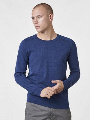 Tröjor & cardigans - Filippa K Cotton Merino Sweater Aquatic Melange