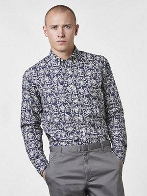 Skjortor - Morris Saville BD Shirt 62 Navy