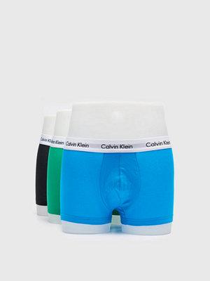 Calvin Klein Underwear 3-pack Cotton Stretch Lowrise Trunk ZXD Multi