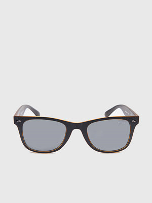 Solglasögon - Superdry Rookie Black-Orange/Smoke