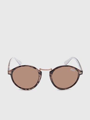 Solglasögon - Superdry Crescendo Crystal/Brown w Silver Mirror
