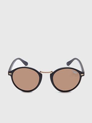 Solglasögon - Superdry Crescendo Black/Brown w Mirror