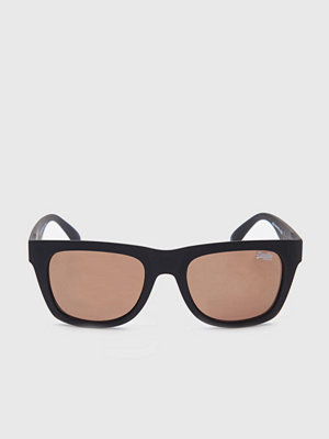 Solglasögon - Superdry Byronville Black/Brown w Mirror