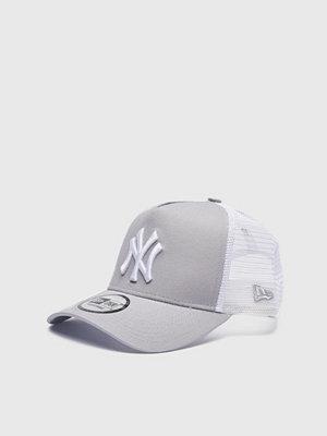 Kepsar - New Era Trucker NY Yankees Grey