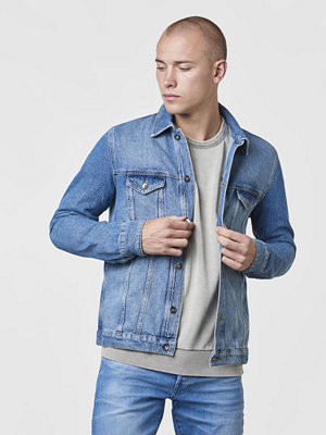 Jeansjackor - Studio Total Joe Denim Jacket Blue