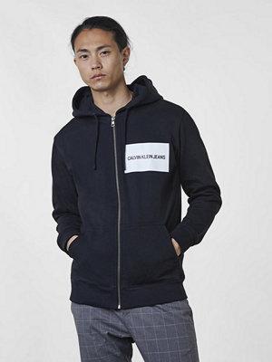 Calvin Klein Jeans Institutional Logo Zip Hoodie 099 Black
