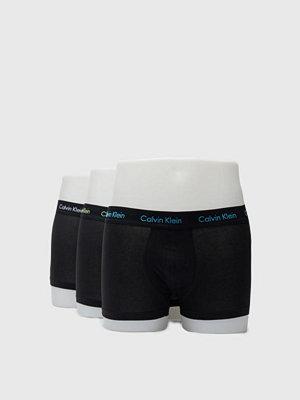 Calvin Klein Underwear 3-pack Cotton Stretch Lowrise Trunk WWZ Black