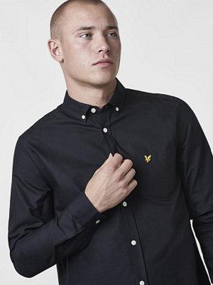 Skjortor - Lyle & Scott Oxford Shirt 572 True Black