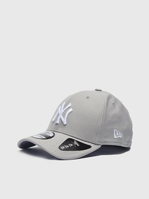 Kepsar - New Era 39Thirty Diamond NY Yankees Grey