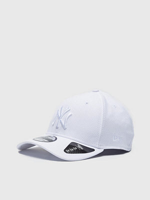 Kepsar - New Era 39Thirty Diamond NY Yankees White