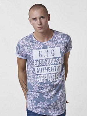 T-shirts - Adrian Hammond Bobby Blossom Tee Antracite