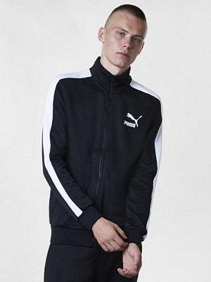 Street & luvtröjor - Puma Classics T7 Track Jacket Puma Black