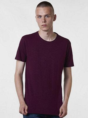 T-shirts - Gabba Filip Slubb Tee Wine Red