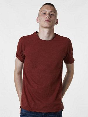T-shirts - Gabba Filip Slubb Tee Brick Red