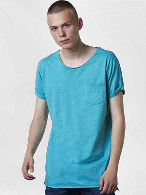 T-shirts - Adrian Hammond Duncan Long Tee Turquoise