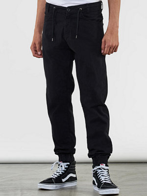 Byxor - Makia Nautical Trousers Black
