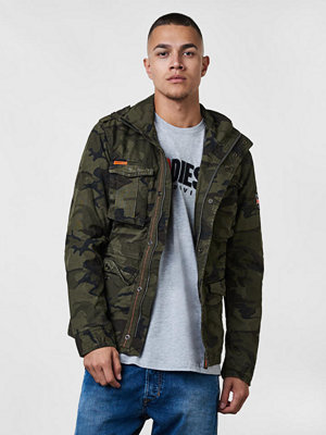 Superdry Classic Rookie Military Jacket Hurricane Camo