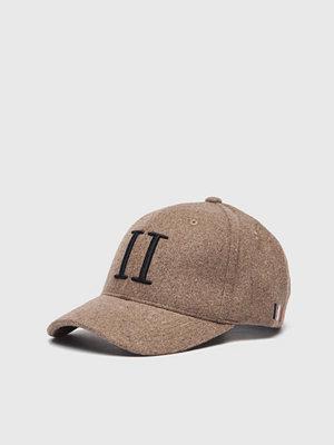 Kepsar - Les Deux Wool II Baseball Cap Lightbrown/Black