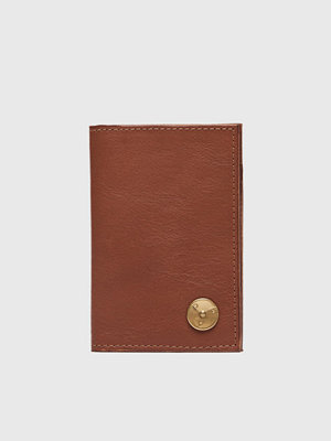Plånböcker - P.A.P Clas Small Wallet Leather Cognac