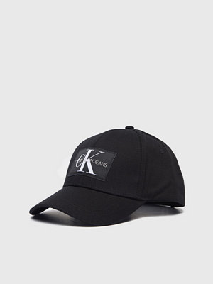 Kepsar - Calvin Klein Monogram Cap 016 Black Beauty